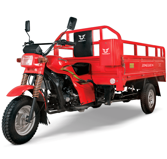 Trimovil - Furgón 200 - Zongshen-principal-rojo