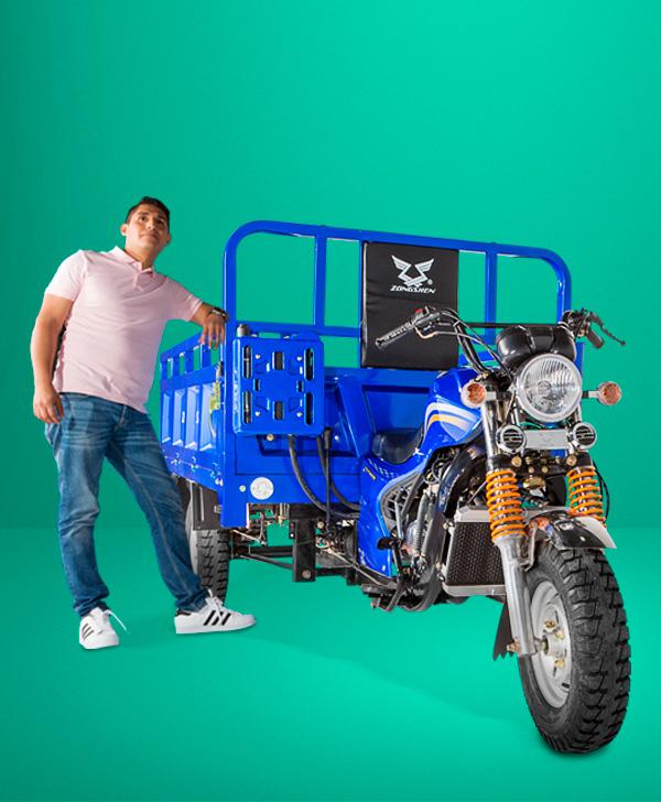 zongshen-motocicleta-furgón 250-modelo1