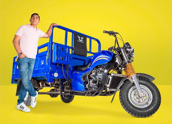 zongshen-motocicleta-furgón 250-modelo 2