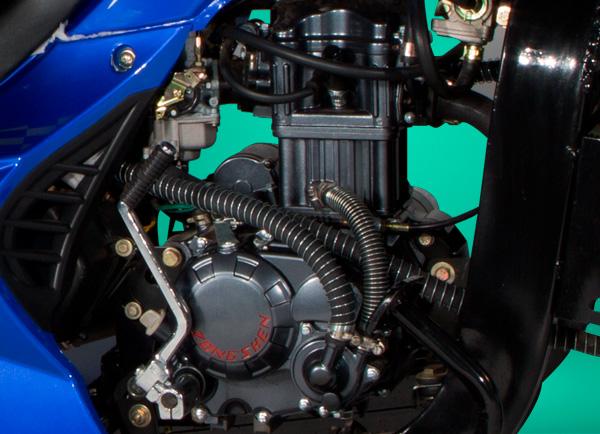 zongshen-motocicleta-furgón 250-motor