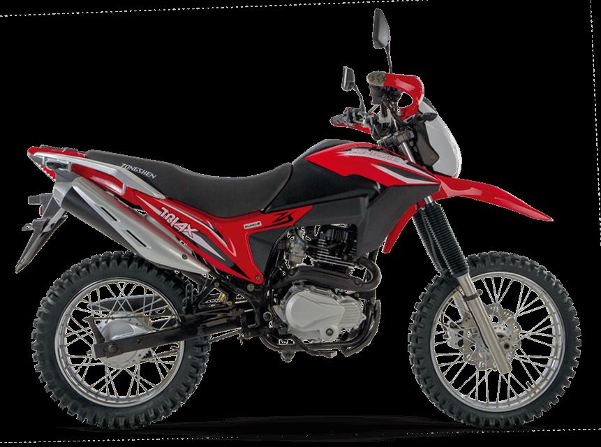motocicleta-zongshen-triax200-roja